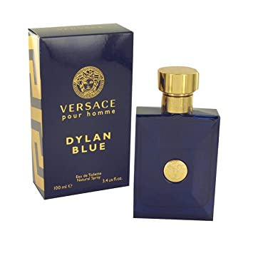 Amazon.com   VERSACE Pour Homme Sealed Dylan Blue Eau de Toilette, 3.4  Ounce   Beauty c2a3ea17eac