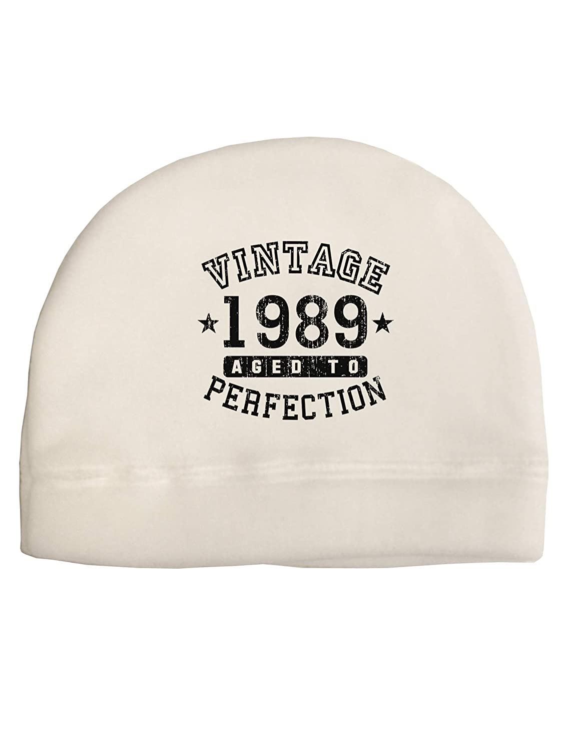 Amazon TooLoud 30th Birthday Vintage Birth Year 1989 Adult Fleece Beanie Cap Hat White Clothing