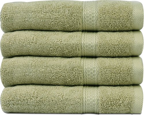 Cotton Large Towels 4 Pack inches