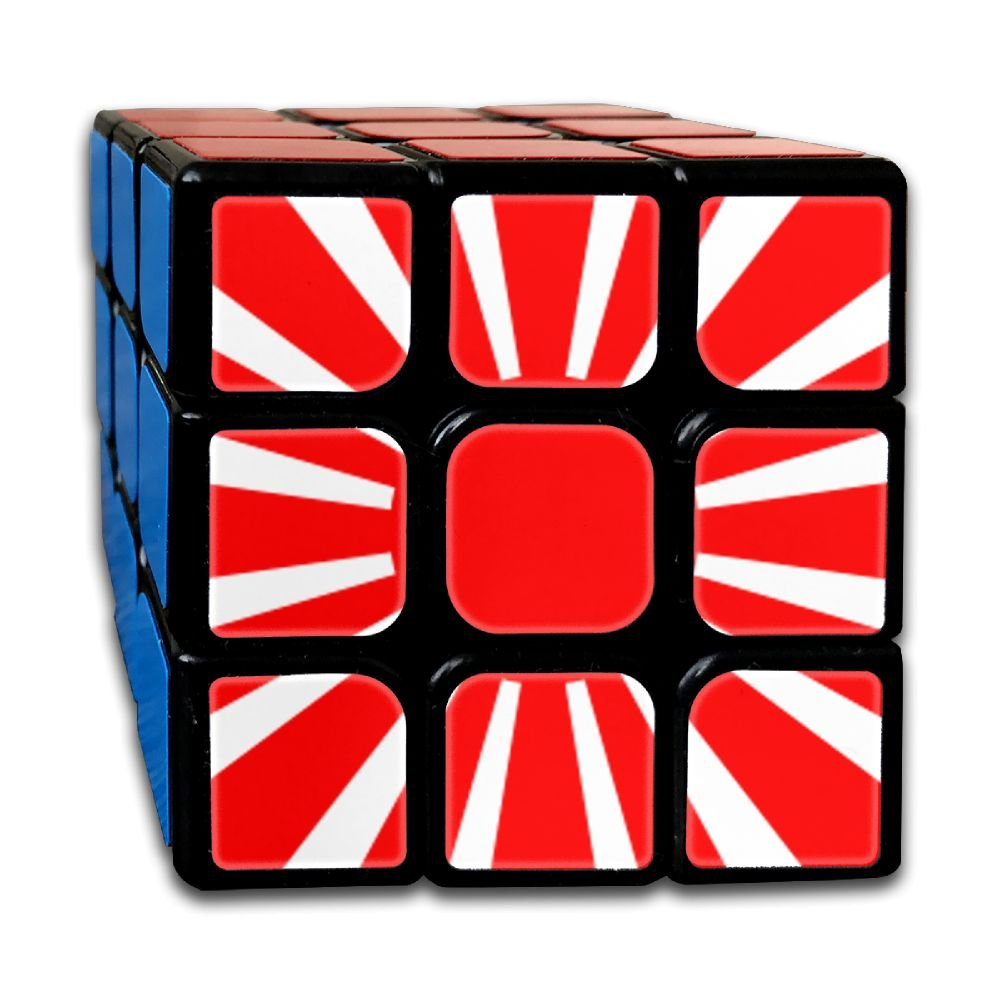 AVABAODAN The Japanese Flag Rubik's Cube Original 3x3x3 Magic Square Puzzles Game Portable Toys-Anti Stress For Anti-anxiety Adults Kids