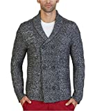 Product review for Nautica Men's Long Sleeve Textured Shawl Collar Double Breasted Peacoat Sweater