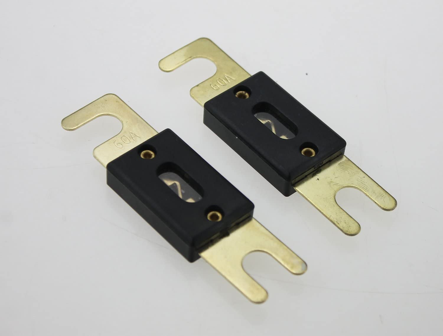 IZTOR 2 Pack ANL Fuses 60 Amp Gold Plated