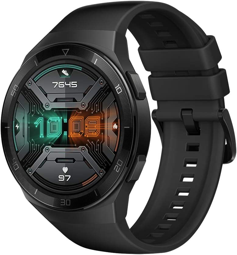 HUAWEI Watch GT 2e Sport - Smartwatch de AMOLED pantalla de 1.39 pulgadas, 2 semanas de batería, GPS, Color Negro