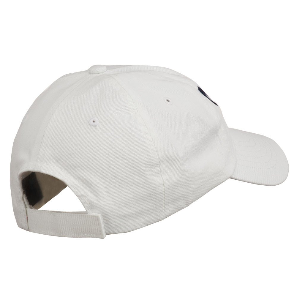 e4Hats.com Never Stop Embroidered Washed Cap