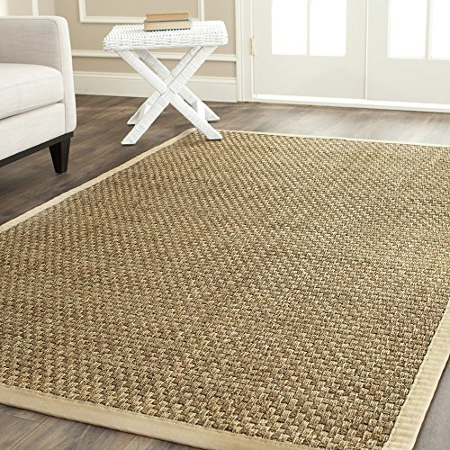 Safavieh Natural Collection Basketweave Seagrass