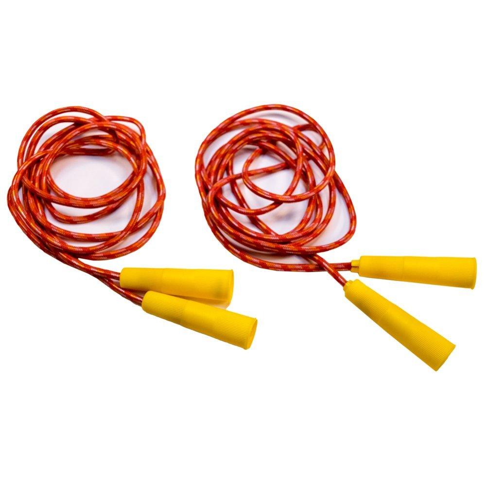 TukTek Kids First Set of 2 Jump Ropes for Fun & Games Exercise Training