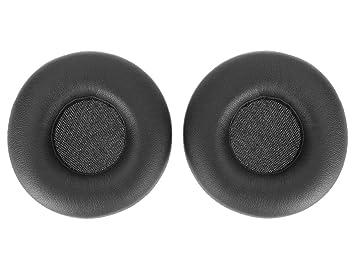 WEWOM 2 Almohadillas de Repuesto para Cascos AKG Y50 Y50BT Y55, Negro