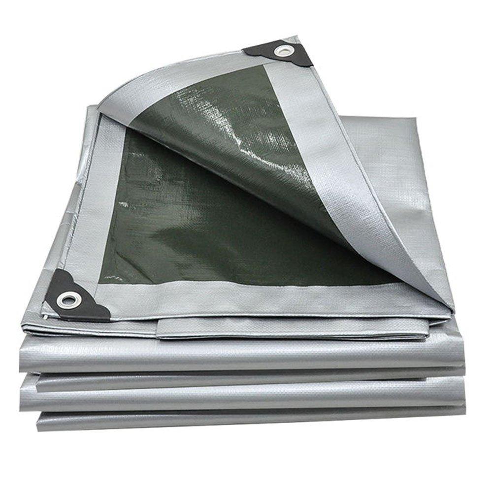 JIANFEI オーニング 防水耐寒性日焼け止め雪の耐久性耐摩耗性ポリエチレン厚さ0.35mm (色 : Gray, サイズ さいず : 5.7x11.7m) B07FVVD8CM 5.7x11.7m|Gray Gray 5.7x11.7m