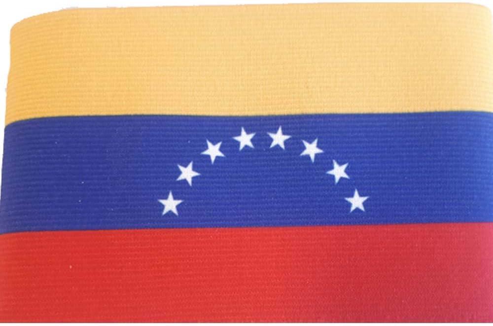 DE TOO+ BV Brazalete de Capitán, Hombres, Bandera Venezuela, 31X8 ...