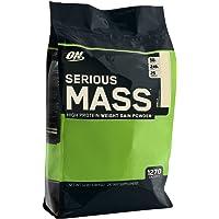 Optimum Nutrition Serious Mass Vanilla Protein Powder Gainer, 5.44 Kilograms