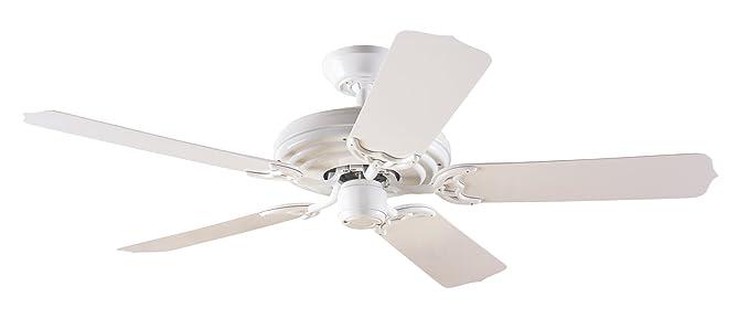 Hunter 23566 Sea Air 52 Inch 5 White Plastic Blades Ceiling Fan