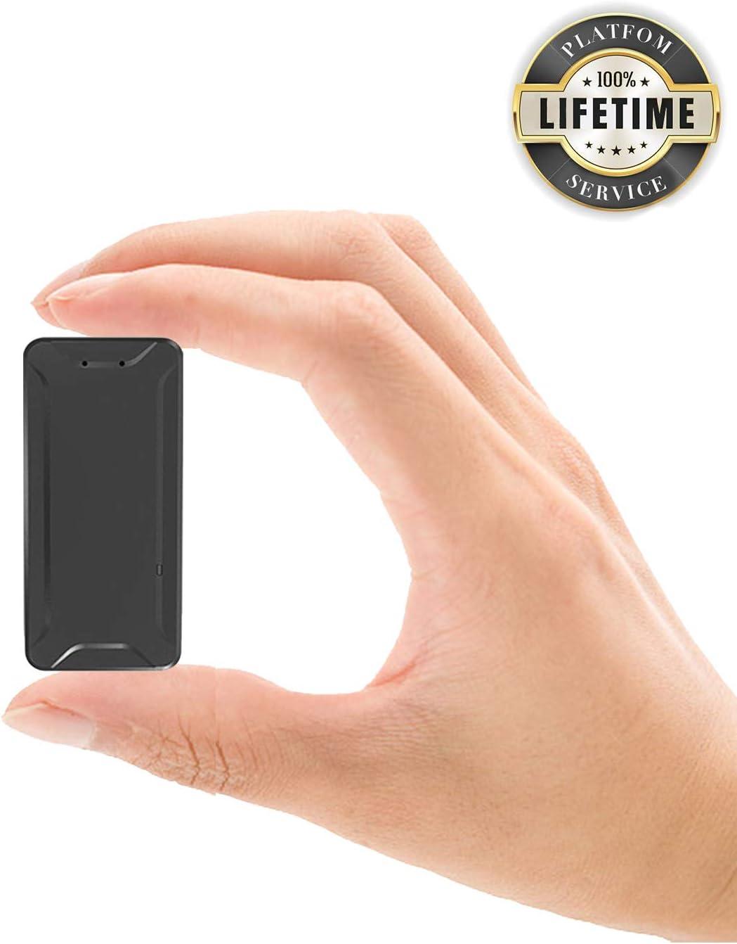 Localizador GPS para Coche, Toptellite Tiempo Real Mini GPS Tracker Pequeño de Seguimiento Paquete Anti-perdido Anti Thief para Wallet Lost Find Aplicaciones Gratuitas para iOS y Android: Amazon.es: Electrónica