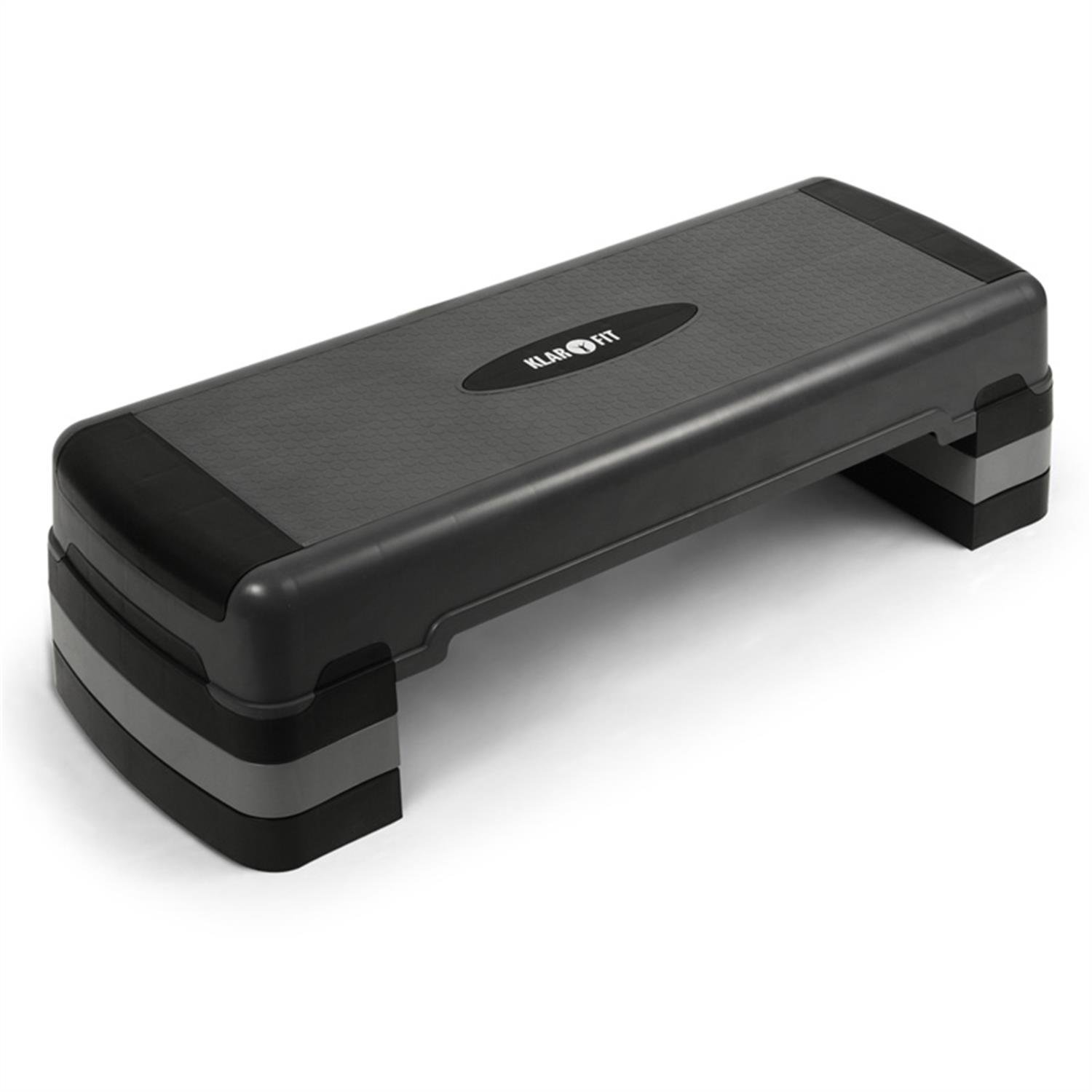 Klarfit FIT ST step para fitness alturas regulables de  cm cm