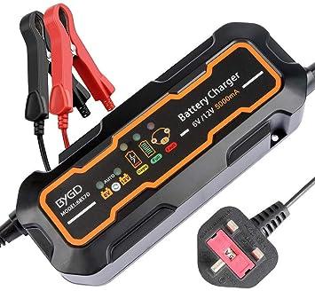 Cargador de batería, cargador de batería de automóvil 12V ...