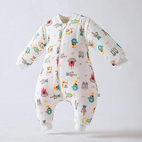 Gleecare Saco de Dormir para bebé,Otoño e Invierno Gasa Fractura Pierna Bolsa a Clip