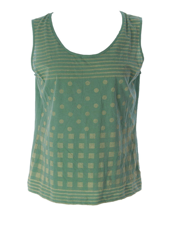 Lunn Women's Didine Polka Dot Tank Top 4 (XL) Menthe