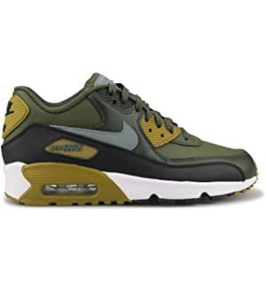 super popular 54236 033a2 NIKE Youth Air Max 90 Leather Trainers