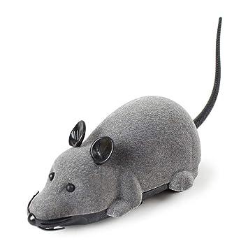RC Elektrische Ferngesteuerte Ratte Maus mit Fernbedienung Haustier Katzen Hunde Katzen Spielzeug