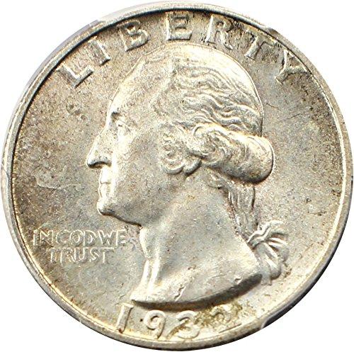 1932 S Washington Quarters (1932-98) Quarter MS63 PCGS