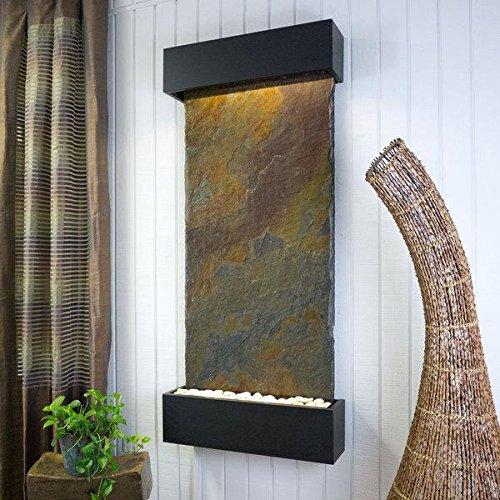 Raja Slate (BluWorld Classic Quarry Vertical Indoor Wall Fountain Raja Slate)
