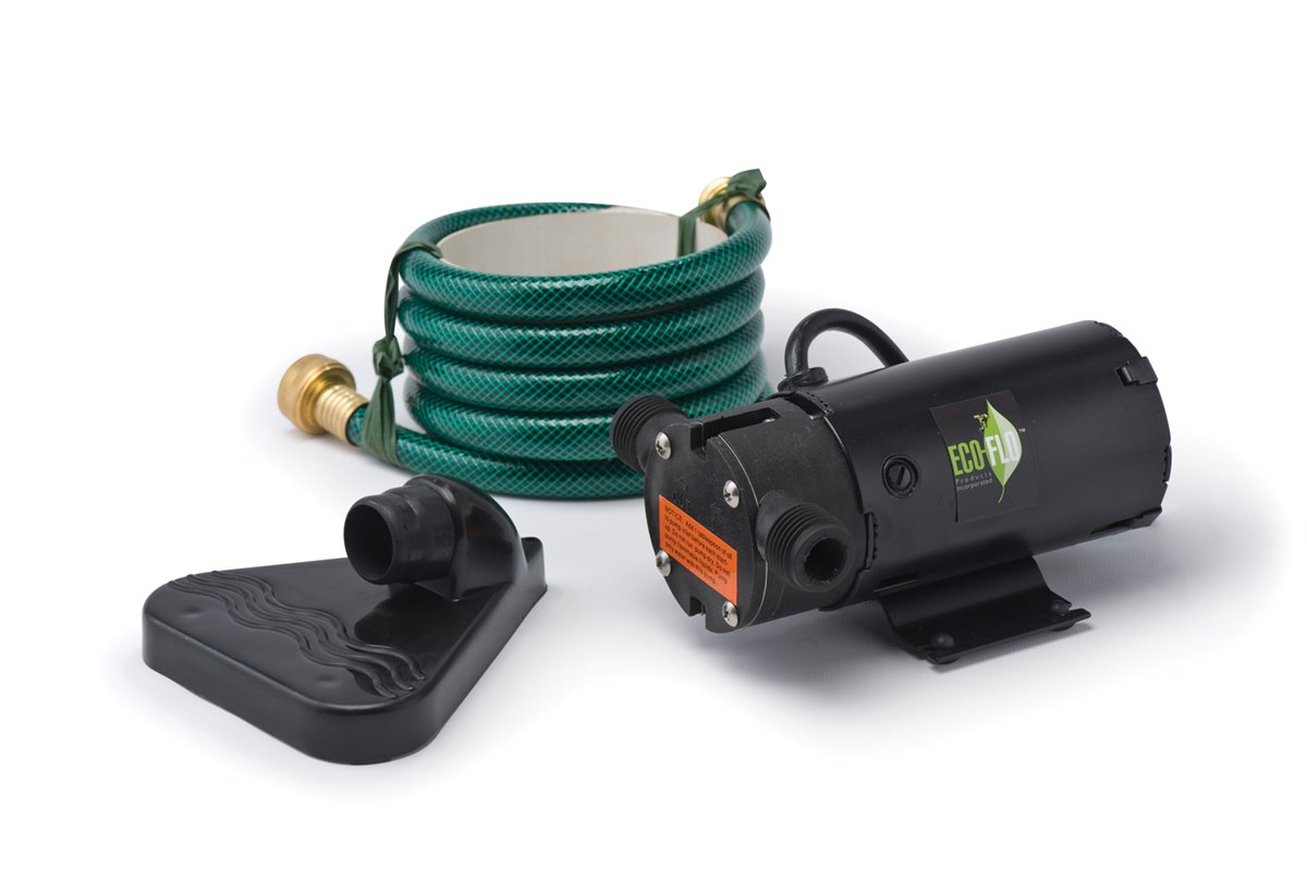 ECO-FLO Products PUP61 Portable Electric Water Transfer Pump Kit, 1/12 HP, 360 GPH by ECO-FLO PRODUCTS INCORPORATED