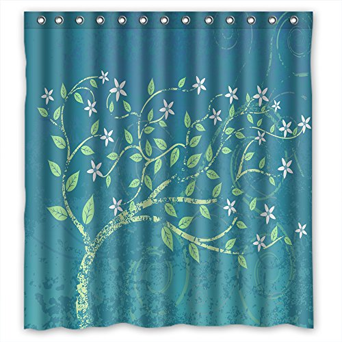 ZEEZON Bath Curtains Of Tree Polyester Width X Height / 72 X 72 Inches / W H 180 By 180 Cm Best Fit For Custom Custom Boys Lover. Wipe Clean. (Costume Rental Tampa)