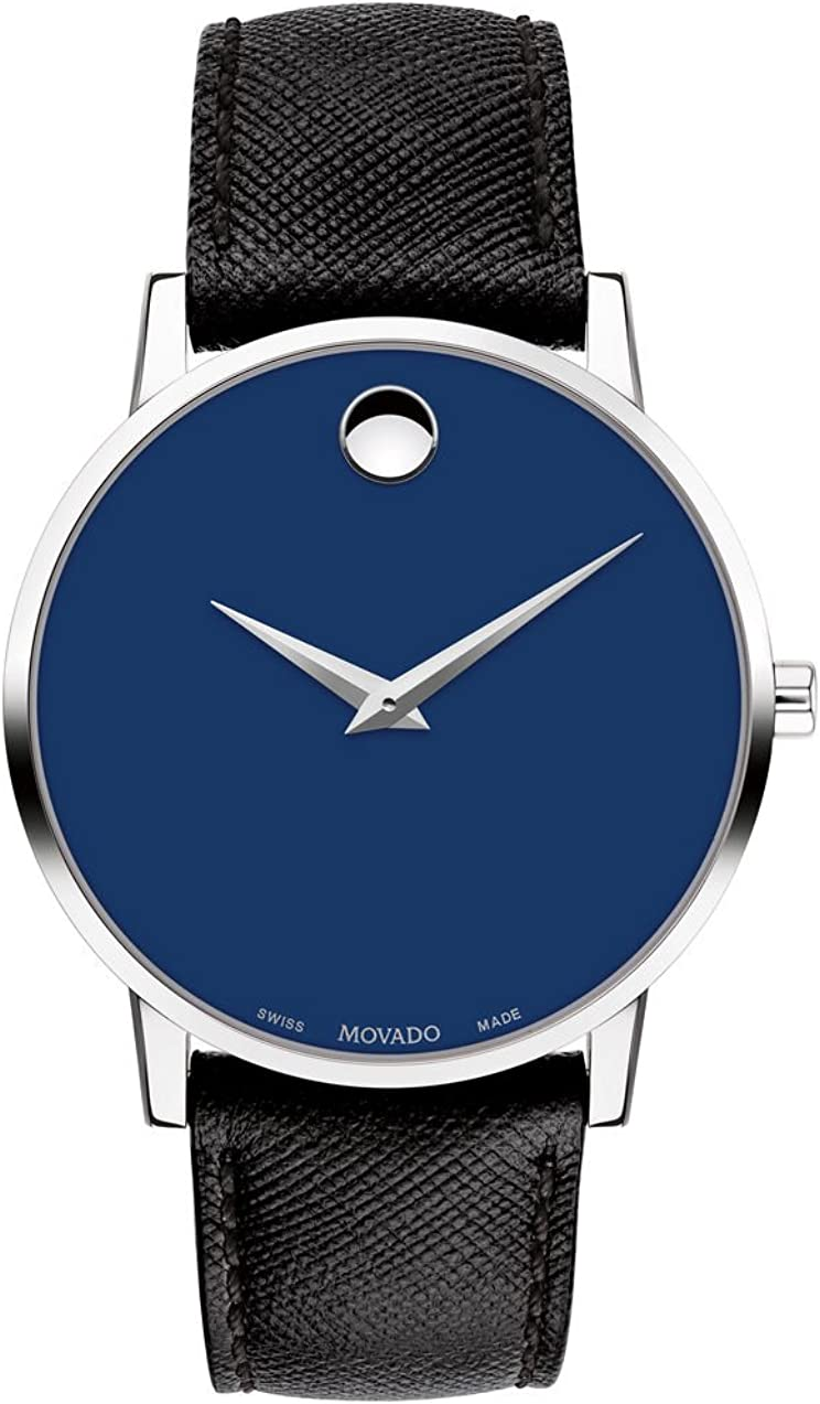 Movado Museum Classic Reloj de Hombre Cuarzo Suizo 40mm 0607197
