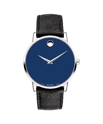 Amazon Com Movado Museum Classic Blue Dial Men S Watch