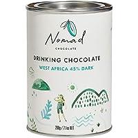 Nomad Chocolate - Hot Chocolate West Africa 45% Dark, 200g