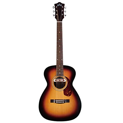 Guild Guitars M 240E Troubadour VSB W B Acoustic Electric Guitar With Bag