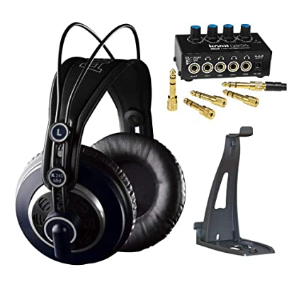 43d606851b2 Image Unavailable. Image not available for. Color: AKG K240 MKII Headphones  with Knox Gear Headphone Amplifier ...