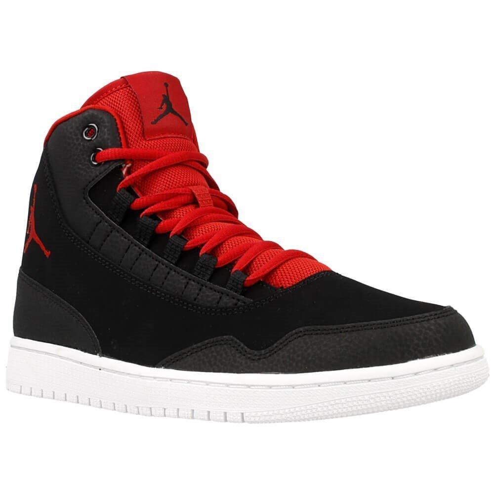 best sneakers ff10b 03326 Amazon.com  NIKE - Jordan Executive - 820240001 - Color Black-Red - Size  12.0  Fashion Sneakers