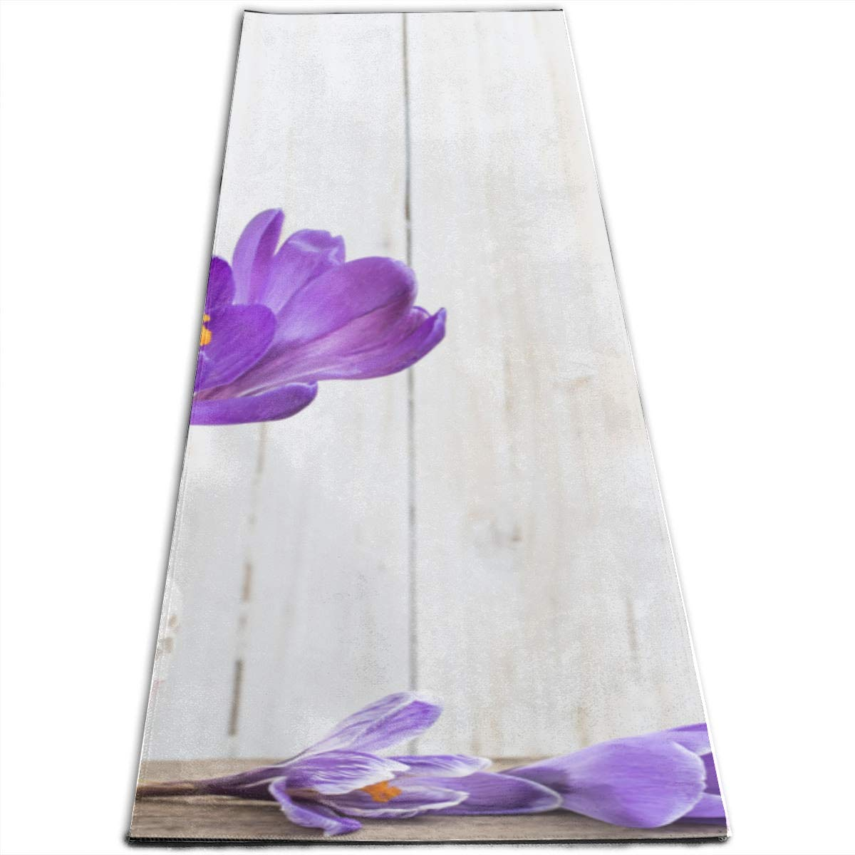 Amazon.com: GGKDL Exercise Yoga Mat Spring Flowers Vase On ...
