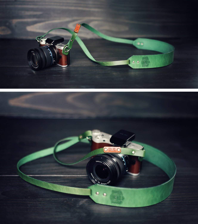 Customized Camera Strap Personalized Leather Camera Strap Leather Camera Neck Strap Hand Made Camera Neck Strap