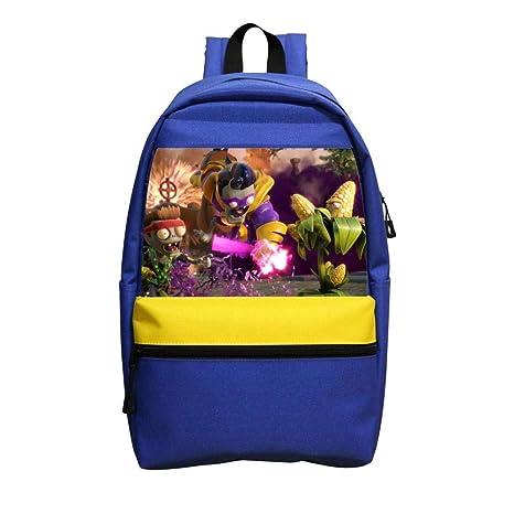 Amazon.com | Student Backpack School Bag Plants Vs Zombies ...
