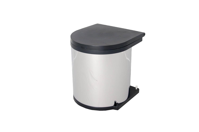 Wesco Built-in Rubbish bin, 372 oz, Silver 010114-42