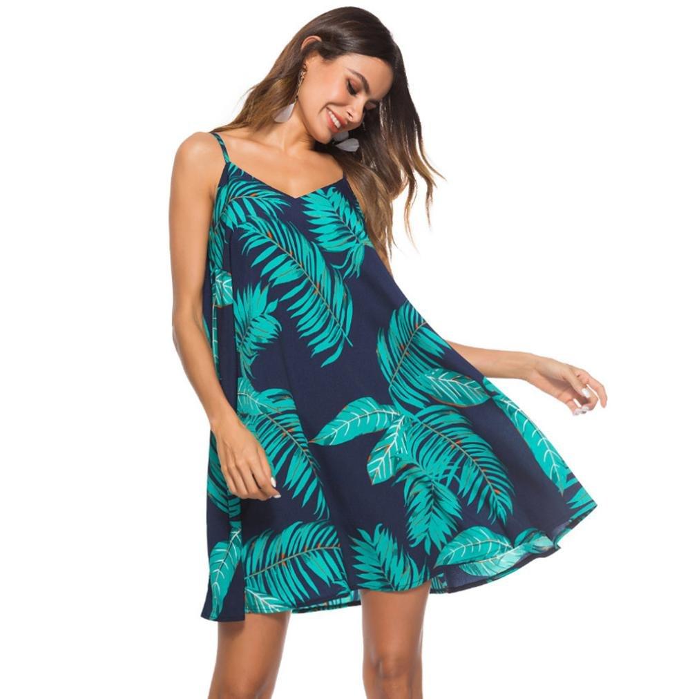 11455bd6f01 POachers Robe Femme Ete Sexy Dos nu Bandage Sling Boheme Imprimée Robes de  Plage Casual Lâche A-ligne Tunique Chic Cocktail Soirée Party Mini Dress  Pas Cher ...