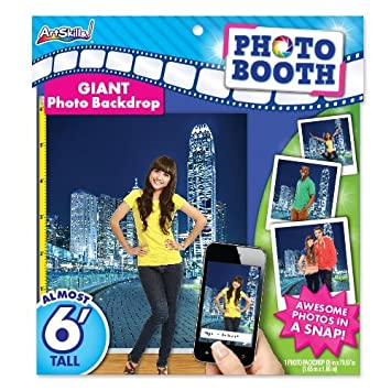 ArtSkills Giant Photo Backdrop, City, 65 x 70.87 inches (PA-2287)