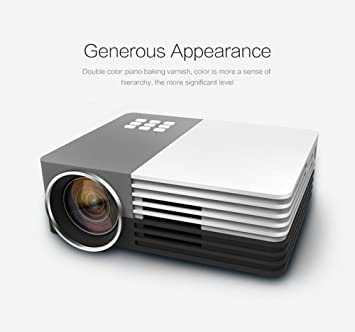 Elephas GM-50-1080P mini-proyector LED HDMI cine en casa-proyector ...