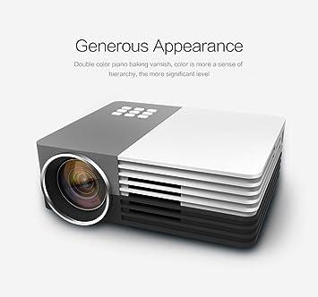 Elephas GM-50-1080P mini-proyector LED HDMI cine en casa-proyector ...