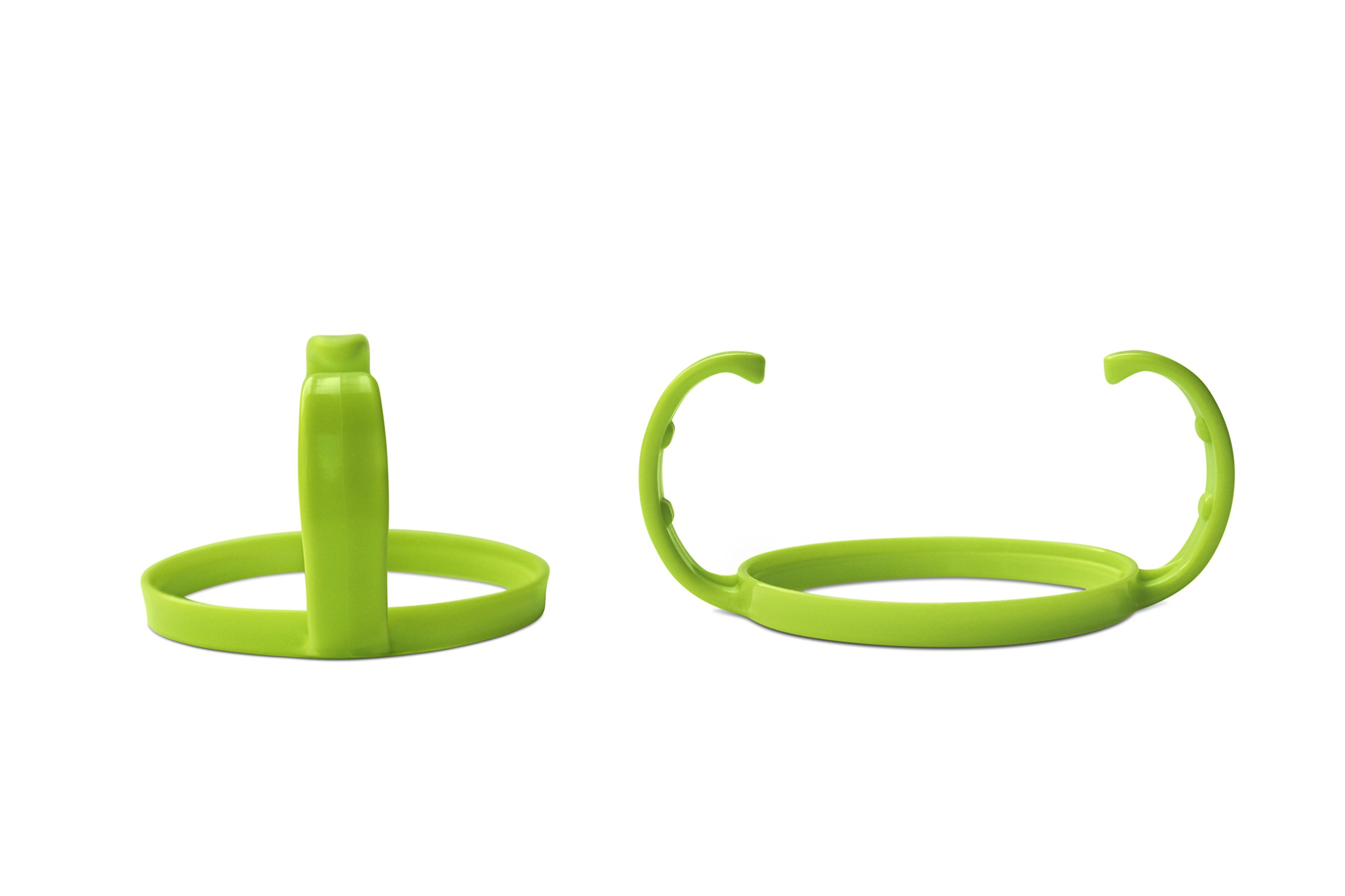 Feeding Bottle Handle Grip for Comotomo Feeding Bottles (Set of 2, Green)