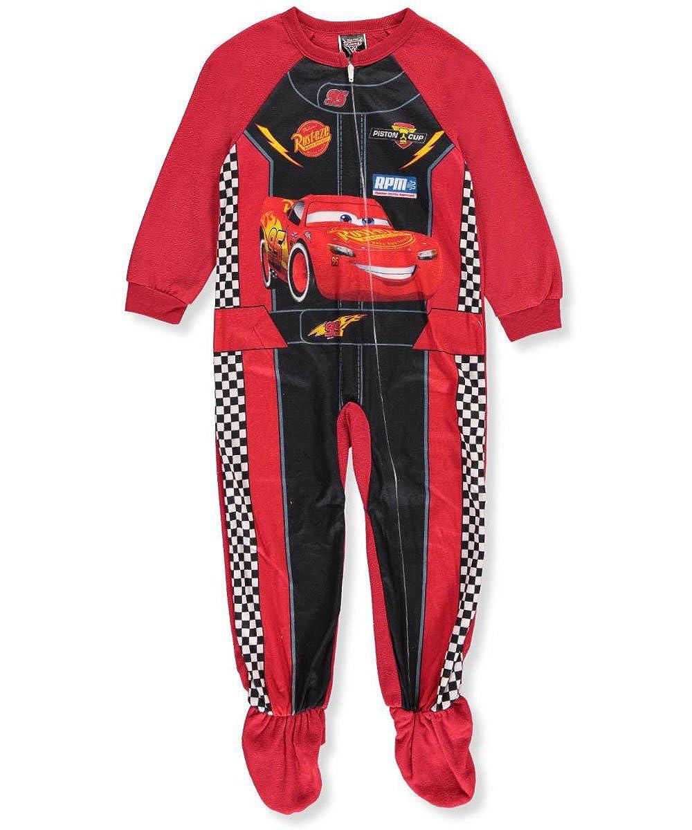 Disney Cars 3 Little Boys' Toddler 1-Piece Footed Pajamas C3066EBF2T