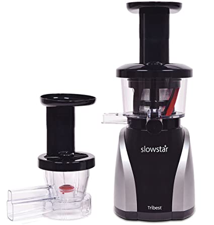 Best Small Food Processor 2020 Amazon.com: Tribest Slowstar Vertical Slow Juicer and Mincer SW