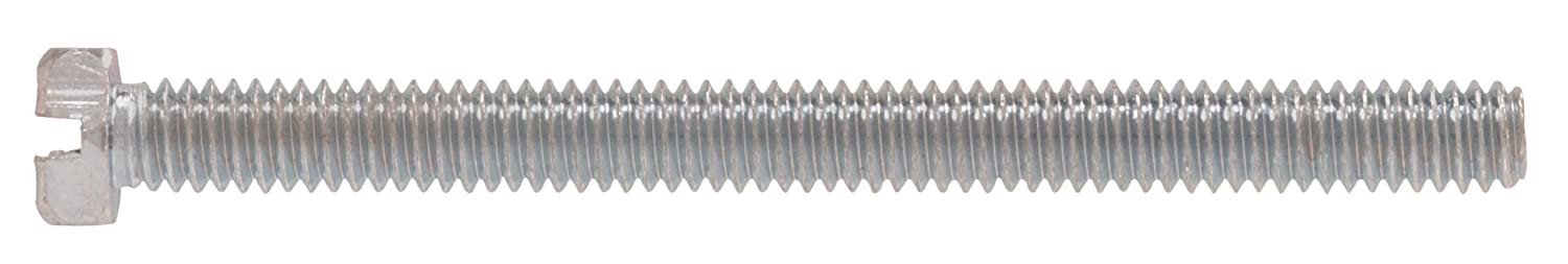 40-Pack The Hillman Group 2242 6-32 x 3//8-Inch Slotted Hex Head Machine Screw
