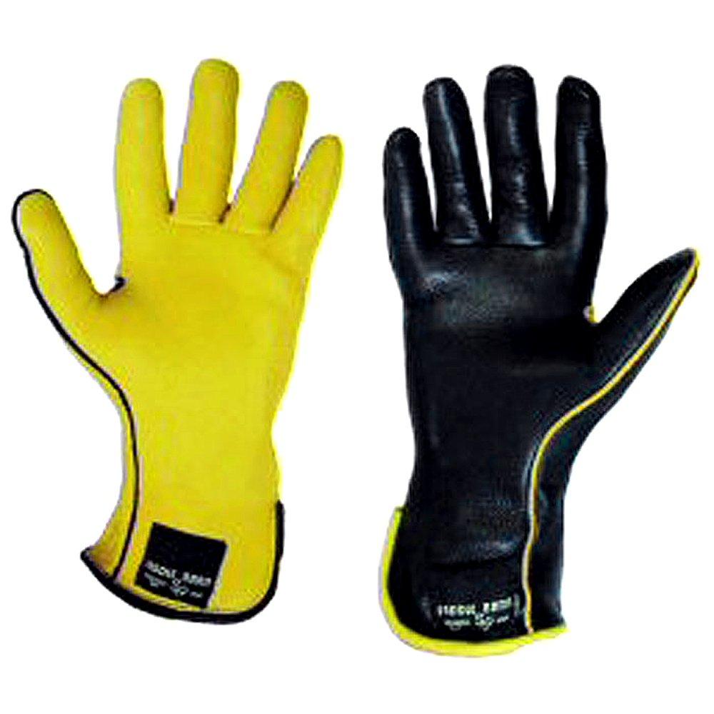 SADDLE BARN 8 Size Super Rodeo Gloves Deer Skin Bull Riding Right Hand Black