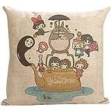 Warm-life New Style My Neighbor Totoro Throw Pillow Cover (Totoro7)