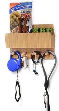 MobileVision Bamboo Pet Supply Organizer
