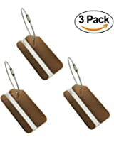 Travel Luggage Tags Suitcase Luggage Identifiers Tags Travel ID Bag Nametags Airlines Baggage Labels by LONOVE