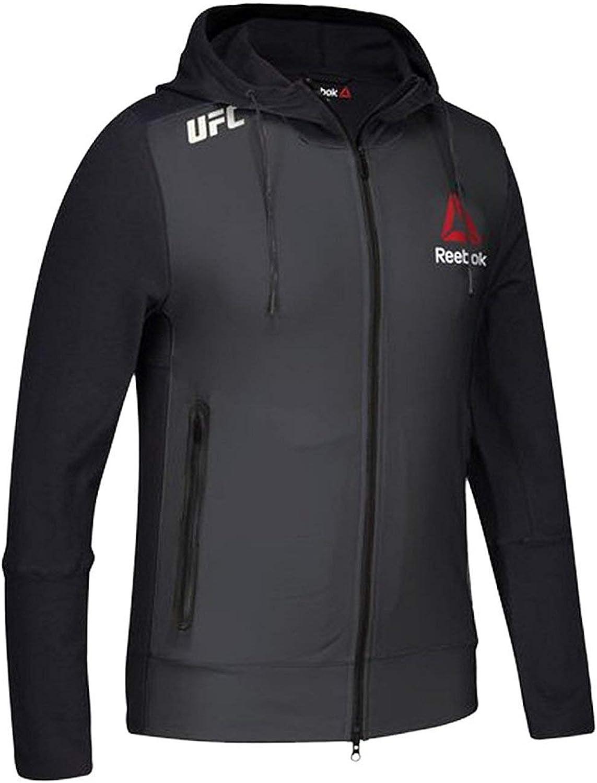 Gravel Reebok UFC Fight Kit Champion Walkout Hoodie Black