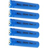 5Pcs AAA 10440 350mAh 3.7V Rechargeable Lithium ion Battery